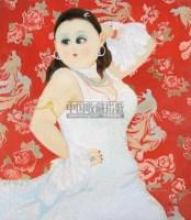 出水芙蓉 布面 油画 - 孟燕 - 现当代艺术 - 第22期精品拍卖会 -收藏网