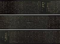 书法长卷 手卷 绢本 -  - 中外书画精品 - 2012年《第一拍卖厅》冬季专场拍卖会 -收藏网