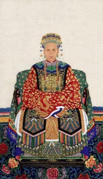一品夫人 镜片 设色纸本 -  - 中外书画精品 - 2012年《第一拍卖厅》冬季专场拍卖会 -收藏网