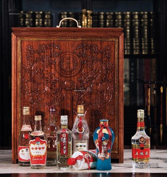 九十年代产八大名酒珍藏礼盒--中外名酒陈酿专场-北京图片