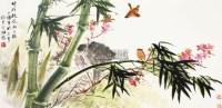 花鸟 镜心 纸本 - 田镛 - 中国书画 - 2012秋季艺术品拍卖会 -收藏网