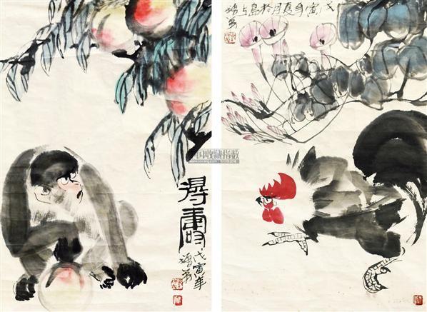 纸本-孙增弟-青岛地区书画名家作品