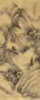 山水 立轴 绢本 - 张之万 - 古代书画专场 - 2013春季艺术品拍卖会 -收藏网