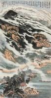 新安新貌 立轴 设色纸本 - 116006 - 精品册 - 2012年春季大型艺术品拍卖会 -收藏网