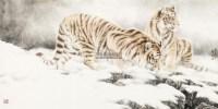 双雄图 软片 纸本 -  - 当代绘画专场 - 2012秋季大型艺术品拍卖会 -收藏网