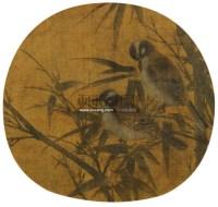 花鸟 镜心 设色绢本 -  - 中国书画 - 第二期艺术品拍卖会 -收藏网