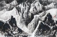 雪景 水墨 纸本 - 刘国松 - 中国现当代美术-油画雕塑 - 2013春季拍卖会 -收藏网