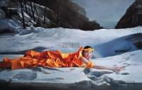 天堂 布面 油画 - 曾传兴 - 现当代中国艺术夜场 - 八周年春季拍卖会 -中国收藏网