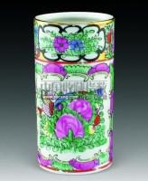 广彩花卉茶具小筒 -  - 惜古藏珍 - 2012年秋季拍卖会 -收藏网