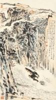 峡江图 立轴 纸本 - 116006 - 中国书画 - 2013年春季中国书画专场拍卖会 -收藏网