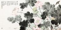 荷花翠鸟 镜片 纸本 - 18235 - 当代书画专题(二) - 2013年迎春书画精品拍卖会 -收藏网