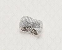 18K白金钻石戒指 -  - 翡翠珠宝 - 2013年春季拍卖会 -收藏网