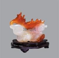玛瑙雕福寿人物摆件 -  - 古董珍玩夜场 - 2012春季文物艺术品拍卖会 -收藏网