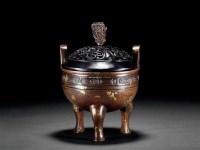 铜点金鼎式炉 -  - 古董珍玩 - 2012春季艺术品拍卖会 -中国收藏网