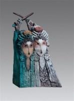 白蛇传 铸铜 雕塑 2/8 - 吴彤 - 中国油画及雕塑 - 2012秋季拍卖会 -收藏网