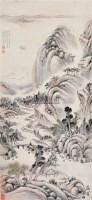 山水 立轴 水墨纸本 - 戴熙 - 中国书画 - 2012夏季艺术品拍卖会 -收藏网