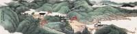 翠峦山居图 镜片 纸本 - 西乐群 - 香港浸会大学 张安德先生珍藏慈善拍卖专场 - 2013年香港春季艺术珍品拍卖会 -中国收藏网