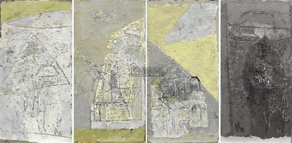 四季图 综合材料 - 141284 - 华人西画 - 2012年秋季暨十周年庆大型艺术品拍卖会 -中国收藏网