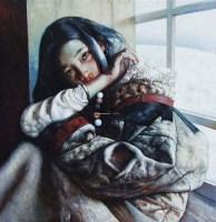窗格-油画 -  - 玉器 杂项 书画 陶瓷 - 2012年春季拍卖会 -收藏网
