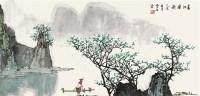 春江渔歌 镜心 设色纸本 - 8623 - 中国书画二 - 2012春季艺术品拍卖会 -收藏网