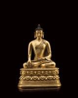铜鎏金释迦摩尼 -  - 佛缘堂私藏专场 - 2012年秋季文物艺术品拍卖会 -收藏网