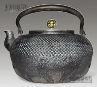 日本铁壶 -  - 瓷玉珍玩 - 2013年首届艺术品拍卖会 -收藏网