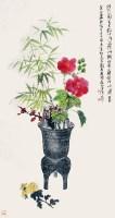 花卉 立轴 纸本 - 139818 - 书画(一) - 2012秋季艺术品拍卖会 -收藏网