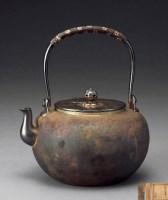 一鹤斋造望月型银壶 -  - 一期一会 听茶闻香 - 2013年春季拍卖会 -收藏网