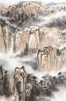 山水 镜心 设色纸本 - 155975 - 中国书画(二)艺海集萃 - 2012秋季艺术品拍卖会 -收藏网