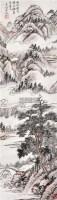 山水 立轴 设色纸本 - 吴待秋 - 中国书画 - 2012夏季艺术品拍卖会 -收藏网