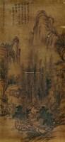 山水 立轴 水墨纸本 -  - 中国书画 - 2012夏季艺术品拍卖会 -收藏网