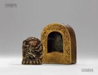 普巴金刚附佛龛 -  - 五觉-金铜佛像 - 2013春季拍卖会 -收藏网