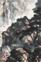山水 立轴 纸本 - 13390 - 中国书画 - 2012秋季拍卖会 -中国收藏网