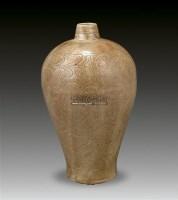 开片刻花梅瓶 -  - 瓷器专场 - 香港中联2012大型艺术品拍卖会 -收藏网