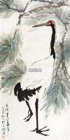 松鹤图 立轴 纸本 - 4551 - 中国书画 - 2012秋季拍卖会 -中国收藏网