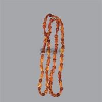 随形琥珀项链 -  - 古董珍玩夜场 - 2012春季文物艺术品拍卖会 -收藏网