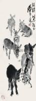 驴 立轴 纸本 - 7693 - 书画(一) - 2012秋季艺术品拍卖会 -收藏网