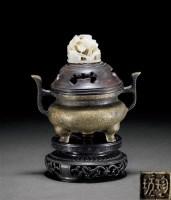 铜双耳三足炉 -  - 古董珍玩 - 2012春季艺术品拍卖会 -收藏网