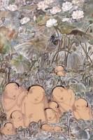 想念老十(二) 油彩 画布 -  - 亚洲现代与当代艺术 - 台北2012秋季拍卖会 -收藏网