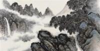 山水画 -  - 字画 杂项 玉器 - 香港中联2012大型艺术品拍卖会 -收藏网