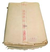 红旗牌八五年特净皮四尺宣纸 -  - 陈年老宣纸及艺术图书专题 - 2012年秋季艺术品拍卖会 -收藏网