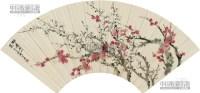 梅花 扇片 -  - 艺术品 - 第45届艺术品拍卖交易会 -收藏网