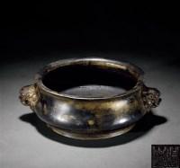 铜兽耳香炉 -  - 古董珍玩 - 2012春季艺术品拍卖会 -中国收藏网