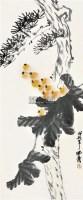 枇杷图 立轴 设色纸本 - 139904 - 新金陵画派 - 2012年春季艺术品拍卖会 -收藏网