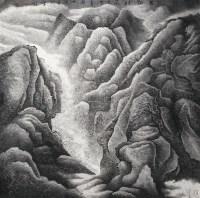 万壑烟岚 镜片 水墨纸本 - 145774 - 名家书画专场 - 2012年春季艺术品拍卖会 -收藏网