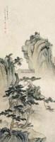 山水 立轴 设色纸本 - 5014 - 中外书画精品 - 2012年《第一拍卖厅》冬季专场拍卖会 -收藏网