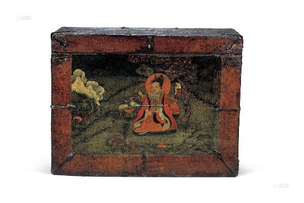 木箱 - - 古董珍玩二(佛说四季专场 英国克瑞斯巴克利博士珍藏藏式