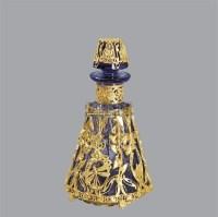 18K铜鎏金水晶瓶 -  - 古董珍玩夜场 - 2012春季文物艺术品拍卖会 -收藏网
