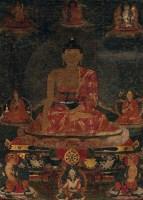 佚名 唐卡 -  - 中国古代书画 - 2012秋季拍卖会 -收藏网