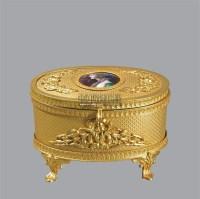 18K铜鎏金盒子 -  - 古董珍玩夜场 - 2012春季文物艺术品拍卖会 -收藏网